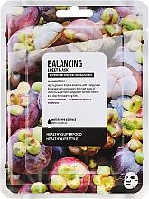 Parfums et Produits cosmétiques Masque tissu équilibrant pour visage, Mangoustan - Superfood For Skin Balancing Sheet Mask