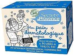 Parfums et Produits cosmétiques Pain dermatologique surgras - Secrets De Provence My Ultra Rich Dermatological Cleansing Bar