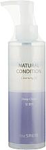 Parfums et Produits cosmétiques Huile hydrophile nettoyante pour visage - The Saem Natural Condition Cleansing Oil Deep Clean