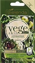 Parfums et Produits cosmétiques Masque aux extraits d'artichaut et broccoli pour visage - Bielenda Vege Skin Diet