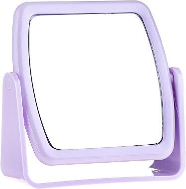 Miroir carré à poser 85727, violet - Top Choice Beauty Collection Mirror
