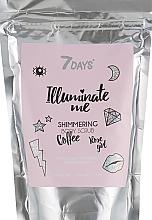 Parfums et Produits cosmétiques Gommage scintillant au café pour corps - 7 Days Illuminate Me Shimmering Body Scrub