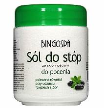 Parfums et Produits cosmétiques Sels de bain pour la transpiration excessive des pieds - BingoSpa Salt For Feet