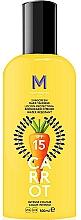 Parfums et Produits cosmétiques Crème solaire pour bronzage foncé - Mediterraneo Sun Carrot Sunscreen Dark Tanning SPF15