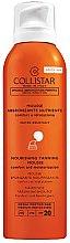 Parfums et Produits cosmétiques Mousse bronzante nourissante pour corps et visage - Collistar Abbronzante Nutriente Mousse SPF 20