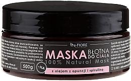 Parfums et Produits cosmétiques Masque de boue à la spiruline et huile de figue de Barbarie pour corps - E-Fiore Body Mask With Spirulina, Opuntia Oil And HA Acid
