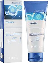 Parfums et Produits cosmétiques Gel exfoliant au collagène pour visage - FarmStay Collagen Water Full Moist Peeling Gel