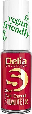 Vernis à ongles - Delia Cosmetics S-Size Vegan Friendly Nail Enamel