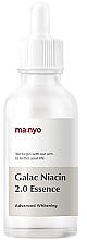 Parfums et Produits cosmétiques Essence à la niacinamide pour visage - Manyo Galac Niacin 2.0 Essenc