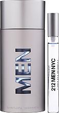 Parfums et Produits cosmétiques Carolina Herrera 212 For Men - Coffret (eau de toilette/100ml + eau de toilette/10ml)