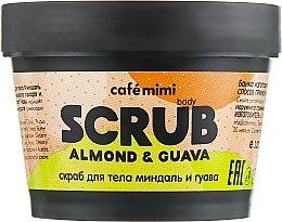 Parfums et Produits cosmétiques Gommage corporel Amande et Goyave - Cafe Mimi Body Scrub Almond & Guava