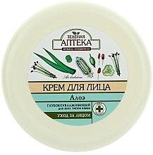 Parfums et Produits cosmétiques Crème à l'extrait d'aloe vera pour visage - Green Pharmacy