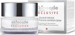 Parfums et Produits cosmétiques Crème cellulaire prohibitrice rides contour yeux - Skincode Exclusive Cellular Wrinkle Prohibiting Eye Contour Cream
