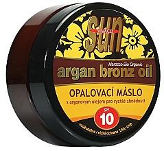 Parfums et Produits cosmétiques Huile de bronzage - Vivaco Sun Argan Bronz Oil SPF 10