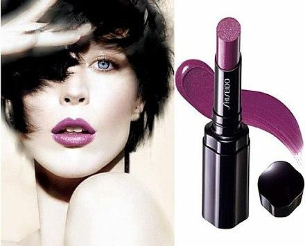 Rouge à lèvres - Shiseido Shimmering Rouge — Photo N3