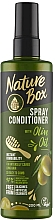 Parfums et Produits cosmétiques Spray démêlant au meil d'acacia - Nature Box Olive Oil Spray Conditioner