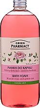 Parfums et Produits cosmétiques Mousse de bain à la rose musquée et thé vert - Green Pharmacy