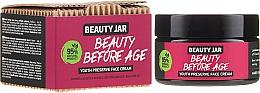 Parfums et Produits cosmétiques Crème à l'huile d'avocat pour visage - Beauty Jar Beauty Before Age Youth Preserve Face Cream