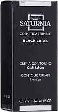 Parfums et Produits cosmétiques Crème à l'huile d'amande douce pour yeux et lèvres - Terme Di Saturnia Black Label Contour Cream Eyes And Lips