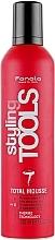 Parfums et Produits cosmétiques Mousse coiffante,fixation extra forte - Fanola STools Total Mousse Extra Strong Hair Mousse