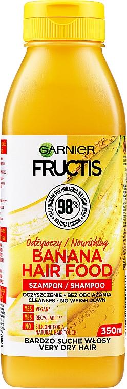 Shampooing à l'extrait de banane - Garnier Fructis Superfood