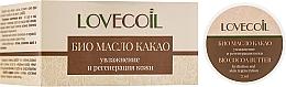 Parfums et Produits cosmétiques Beurre de graines de cacao bio pour corps - ECO Laboratorie Lovecoil Bio Cocao Seed Butter