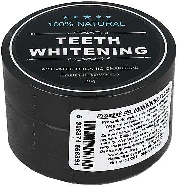 Poudre blanchissante au charbon actif pour dents - Biomika Natural Teeth Powder