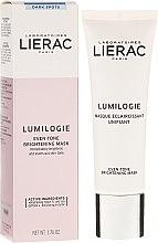 Parfums et Produits cosmétiques Masque éclaircissant unifiant pour le visage - Lierac Lumilogie Even-Tone Brightening Mask
