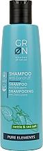 Parfums et Produits cosmétiques Shampooing à l'ortie et au sel de mer - GRN Pure Elements Anti-Dandruff Nettle & Sea Salt Shampoo