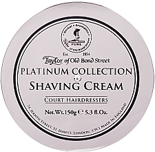 Parfums et Produits cosmétiques Crème à raser, Collection Platine - Taylor of Old Bond Street Platinum Collection Shaving Cream