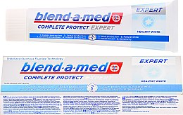 Parfums et Produits cosmétiques Dentifrice blanchissant - Blend-a-med Complete Protect Expert Healthy White Toothpaste