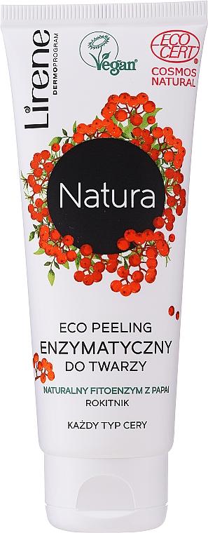 Peeling enzymatique à l'huile d'amande douce pour visage - Lirene Natura Eco Peeling