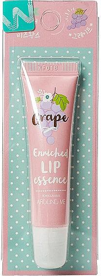 Baume à lèvres à l'extrait de raisin - Welcos Around Me Enriched Lip Essence Grape — Photo N1