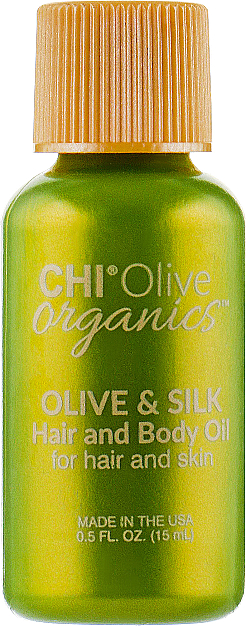 Huile à l'huile d'olive pour cheveux et corps - Chi Olive Organics Olive & Silk Hair and Body Oil — Photo N3