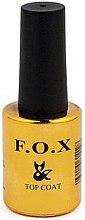 Parfums et Produits cosmétiques Top coat mat pour vernis semi-permanent - F.O.X Top Matte Velour