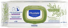 Parfums et Produits cosmétiques Lingettes nettoyantes à l'huile d'olive pour bébés - Mustela Cleansing Wipes With Olive Oil