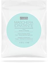 Parfums et Produits cosmétiques Masque tissu à l'acide lactique pour visage - Pupa Maschera Idratante Viso