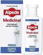 Parfums et Produits cosmétiques Tonique capillaire revitalisant sans rinçage - Alpecin Medical Fresh