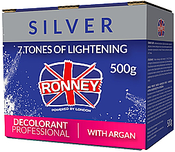 Parfums et Produits cosmétiques Poudre décolorante à l'huile d'argan - Ronney Dust Free Bleaching Powder With Argan