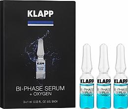 Parfums et Produits cosmétiques Sérum bi-phase au panthénol et acides aminés pour visage - Klapp Bi-Phase Serum Oxygen