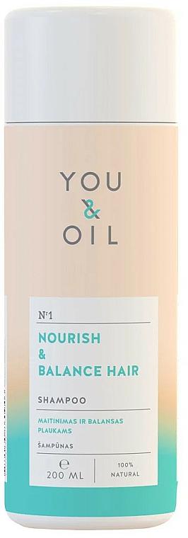 Shampooing à l'huile de lavande - You&Oil Nourish & Balance Hair Shampoo — Photo N1