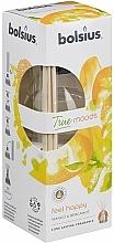 Parfums et Produits cosmétiques Bâtonnets parfumés, Mangue et Bergamote - Bolsius Fragrance Diffuser True Moods Feel Happy