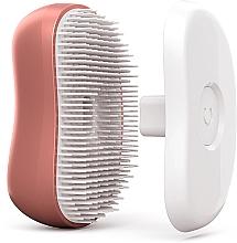 Brosse à cheveux de tourmaline, or-rose - Cactus Barbora Rose Gold — Photo N3