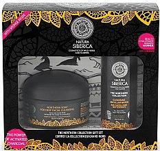 Parfums et Produits cosmétiques Set soin visage - Natura Siberica The Northern Collection Set (eau micellaire/200ml + savon détoxifiant/120ml)