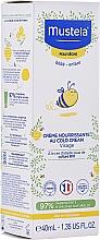Parfums et Produits cosmétiques Crème nourrissante au cold cream pour visage - Mustela Bebe Nourishing Cream with Cold Cream