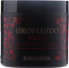 Parfums et Produits cosmétiques Masque au complexe d'acides aminés de blé et kératine pour cheveux - Orofluido Asia Zen Control Mask