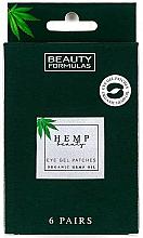 Parfums et Produits cosmétiques Patchs gel à l'huile de chanvre bio pour le contour des yeux - Beauty Formulas Hemp Beauty Eye Gel Patches