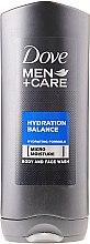Parfums et Produits cosmétiques Gel douche pour visage et corps - Dove Hydration Balance Shower Gel