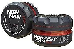 Parfums et Produits cosmétiques Cire coiffante - Nishman Hair Styling Wax 09 Cola