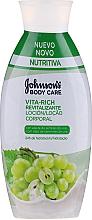 Parfums et Produits cosmétiques Lotion revitalisante à l'huile de pépins de raisin pour corps - Johnson's® Body Care Vita-Rich Lotion